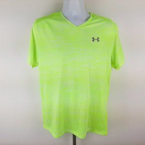 Under Armour Run Men's V-neck Fitted T-shirt Size